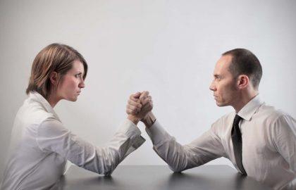 אימון לפתרון מחלוקת עם שותפה עסקית